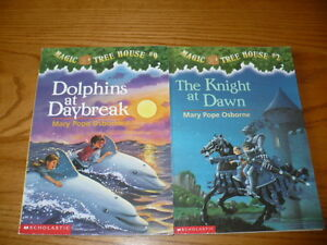 Lot of 2 Magic Treehouse Novels