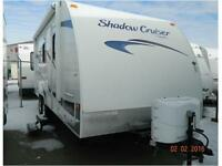 GREAT FLOORPLAN! AWESOME PRICE!  2011 SHADOW CRUISER 195 WBS