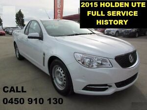 2015 Holden Ute VF MY15 White 6 Speed Automatic Utility Wangara Wanneroo Area Preview