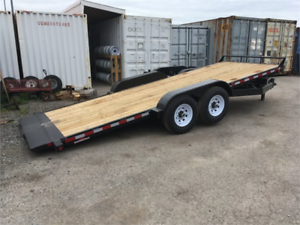 Tilt Deck Equipment Trailers