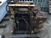 Thompson Bros Vintage 4 ton Winch