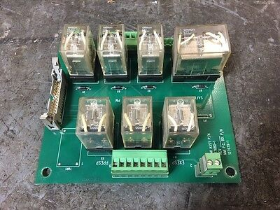 Yaskawa Motoman 137680-1 Safety Relay Board, 137679-1, Used, Warranty
