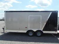 8.5x18 ft Enclosed Car Hauler by Forest RIver - TAX IN PRICES !!