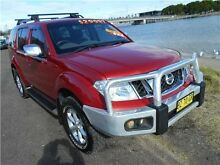 2012 Nissan Pathfinder R51 MY10 ST-L Red 6 Speed Manual Wagon Hamilton East Newcastle Area Preview