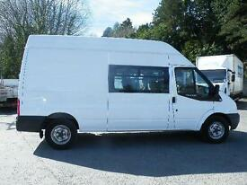 2012 Ford Transit 350 LWB 9 Seat Crew van/uk delivery