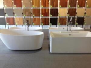 FREESTANDING BATHTUBS FROM $699.99 - SHOWERS - VANITY - FAUCETS - AC ON SALE!!!!
