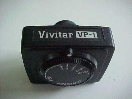 Vivitar 283 VP-1 module for vary power      (bx 72)