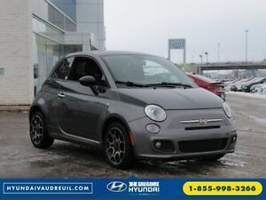 2012 FIAT 500 Sport PRIMA EDITION CUIR TOIT PANO AILERON MAG