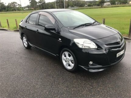 2008 Toyota Yaris NCP93R 08 Upgrade YRX Black 4 Speed Automatic Sedan West Gosford Gosford Area Preview