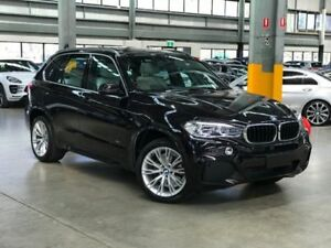 2015 BMW X5 F15 xDrive30d Wagon 5dr Spts Auto 8sp 4x4 3.0DT Carbon Flash Black Sports Automatic