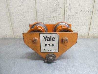 Yale Eaton Manual Overhead Electric Chain Hoist I-beam Trolley 12 Ton 1000 Lbs