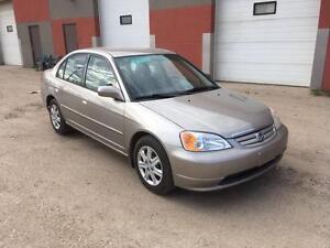 2003 Honda Civic -NO CREDIT CHECKS! CALL 780 918 2696