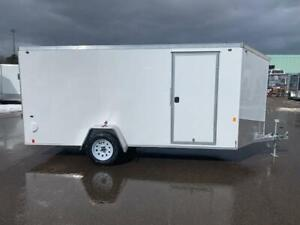 NEW 2019 OMEGA 6' x 14' ALUMINUM ENCLOSED TRAILER