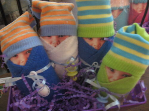 Diaper Babies Set of 2 - Gifts for Baby Showers, New Mommy
