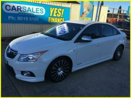 2013 Holden Cruze JH Series II MY13 SRi White 6 Speed Manual Sedan
