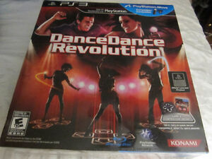 SONY PS3 DANCE DANCE REVOLUTION BRAND NEW IN SEALED PACKAGE