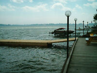 DOCKS - ALUMINUM & WOOD - FLOATERS - POST DOCKS - BOAT LIFTS