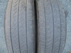 PAIR OF 225/65R17 ALL SEASON.$40 FOR BOTH.