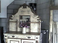 RUSTIC FRENCH DRESSER /SIDEBOARD