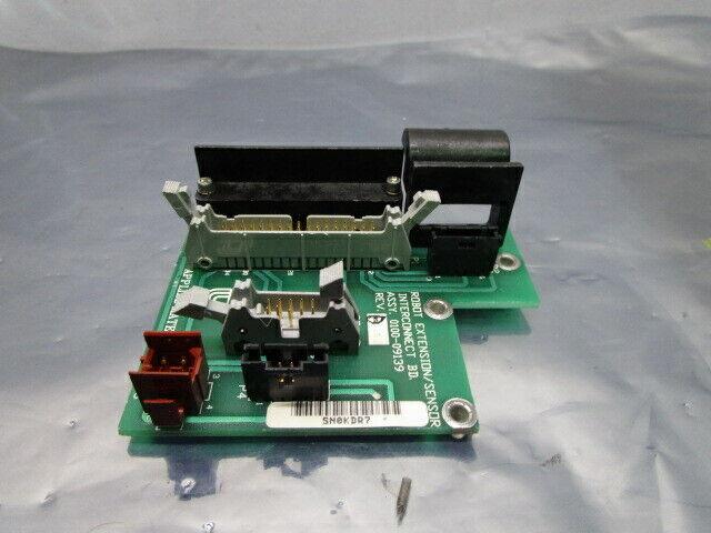 AMAT 0100-09139 Robot Extension/Sensor Interconnect Board, PCB, FAB, 101026