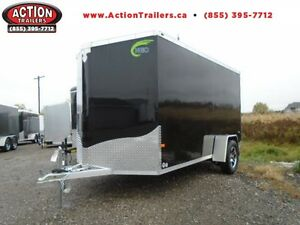 6X12 NEO - RAMP DOOR & WHEELS UPGRADES - SALE PRICING!! London Ontario image 1
