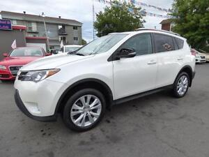 2013 TOYOTA RAV4 LIMITED AWD (TOIT, CUIR, NAVI, MAGS, FULL!!!)