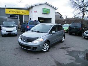2010 Nissan Versa 1,8 SL . FINANCEMENT MAISON AVEC 500$ DISPO