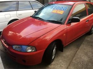 1999 Mitsubishi Mirage Red Automatic Hatchback West Ryde Ryde Area Preview