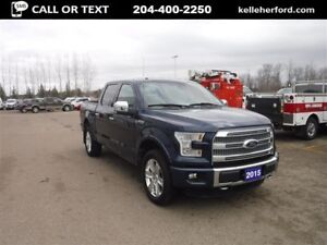 2015 Ford F-150 Platinum SuperCrew 4x4