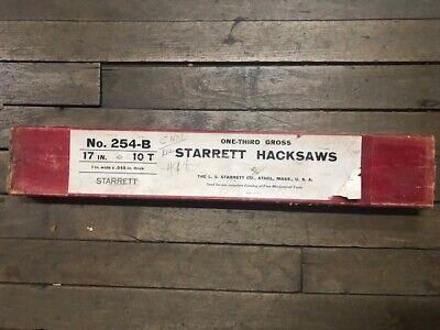 Starrett 254-b Hack Saws  In Stock Vintage