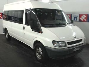 2003 Ford Transit VH White 5 Speed Manual Bus Cardiff Lake Macquarie Area Preview