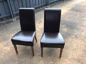 High Back Dining Chairs Sandy Bay Hobart City Preview