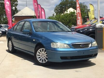 2005 Ford Fairmont BA Mk II Blue 4 Speed Automatic Sedan South Toowoomba Toowoomba City Preview
