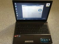 Windows 7 ASUS k53u 320gb Hdd Laptop