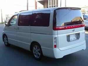 2003 Nissan Elgrand E51 HWS White 5 Speed Tiptronic Wagon Taren Point Sutherland Area Preview
