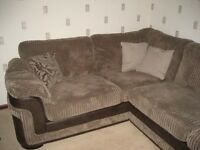 Fabric Corner Sofa (Right hand facing)