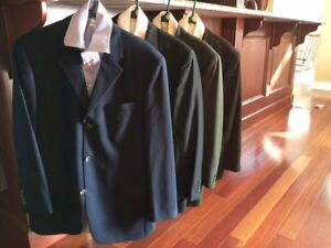 FOUR High-End Mens Dress Jackets, with Shirts, ALL for $150!!!