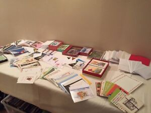 Greeting cards and envelopes