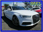 2016 Audi A6 4GL MY16 1.8 TFSI White 7 Speed Auto Dual Clutch Sedan Minto Campbelltown Area Preview