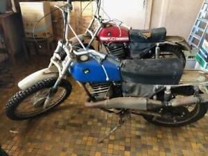 Scrambler motorbikes
