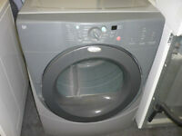 WHIRLPOOL GREY DRYER, DUET SERIES