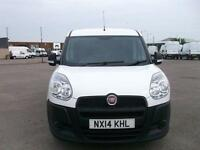 Fiat Doblo 1.3 CDTI 75PS MULTIJET VAN DIESEL MANUAL WHITE (2014)
