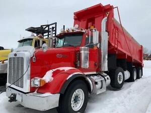 2014 Peterbilt 367 Tri-Axle Dump Truck