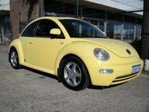 2000 Volkswagen Beetle 9C 2.0 Yellow 4 Speed Automatic Hatchback Wangara Wanneroo Area Preview