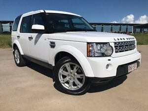 2011 Land Rover Discovery 4 Series 4 MY11 SDV6 CommandShift SE White 6 Speed Sports Automatic Wagon Garbutt Townsville City Preview