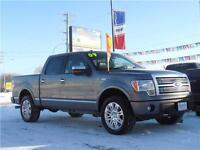 2009 Ford F-150 Super Crew 4x4 Platinum Edition **LOADED**