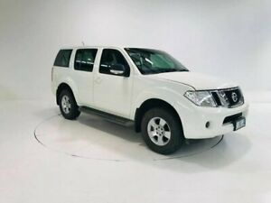2010 Nissan Pathfinder R51 MY10 ST White 5 Speed Sports Automatic Wagon Cooee Burnie Area Preview