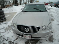 2008 Buick Allure Gray cloth Sedan