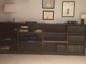 Low Ikea bookcases $10 each