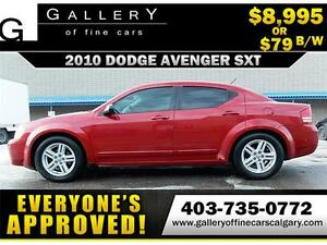 2010 Dodge Avenger SXT $79 BI-WEEKLY APPLY NOW DRIVE NOW